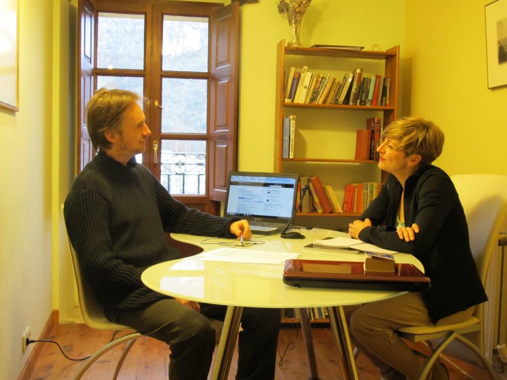 entrevista en ingles