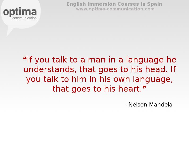 Reflexiones y pensamientos inspirados para el aprendizaje de un idioma.