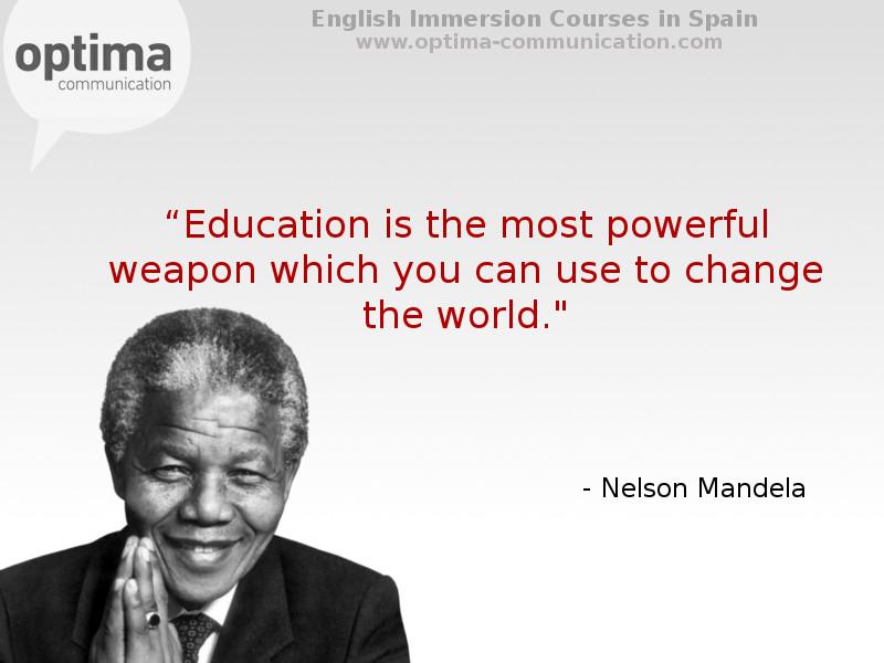 Reflexiones y pensamientos inspirados para el aprendizaje de un idioma; educación