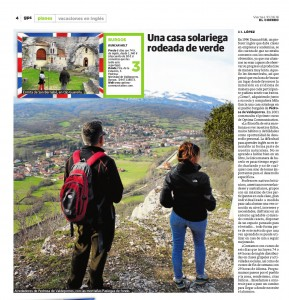 Optima Communication Cursos de inmersion ingles en el periodico El Correo